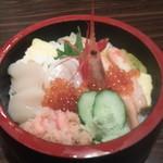 69977598 - 北海丼 990円(税込)