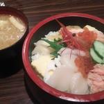 69977601 - 北海丼 990円(税込)
