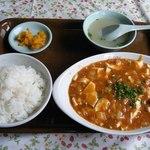 天山 - 麻婆豆腐定食@756