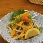 奈良の酒蔵全部呑み うまっしゅ - かつおタタキ550円
