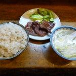 味太助 - 2011/2 牛タン定食1人前1100円