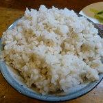 味太助 - 2011/2 麦飯(大盛り)
