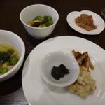四川料理 巴蜀 - ◆前菜盛り合わせ②・・こちらは日本酒に合いますね。