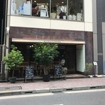 銀座2丁目ミタスカフェ - 昭和通りから1本有楽町側の路地