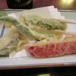 和楽庵 - 野菜も美味い