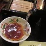和楽庵 - 自然体の蕎麦湯