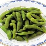 京王アサヒスカイビアガーデン - 枝豆