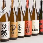 九州の旬 博多廊 - 充実の焼酎ラインアップ