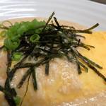 たぬき - 納豆オムレツ
