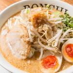 麺屋 BONCHI - BONCHI味噌らーめん味玉付き