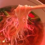 いなか屋 - 御所野らーめんの麺リフト〜(*^▽^*)