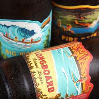 ハワイアンビールを昼間から