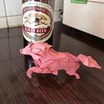 平野屋 - キリンをイメージした折り紙