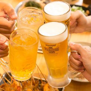 今夜はカドハチで乾杯!思う存分楽しんでください!