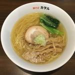 鶏そば カヲル - 鶏そば 塩〜(*^▽^*)