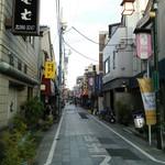 三笠食堂 - 商店街