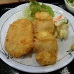 三笠食堂 - 串カツとコロッケ