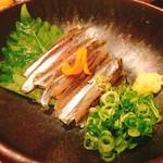 クダコ - イワシのお刺身☆
