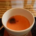 和とBar 月の小路 - 茶碗蒸しアップ