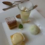 レストラン ラ トゥール - ランチコースB(デザート)