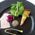 レストラン ラ トゥール - ランチコースB(オードブル取り合わせ)