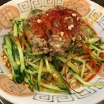 らーめんぬーぼう二代目 - 冷やしタンタン麺(730円)