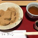 茶房こいし - 黒糖蜜わらび餅