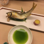 69993797 - 太田川の鮎の塩焼き