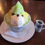 69996603 - かき氷抹茶バニラ