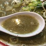 中華そば つし馬 - 強烈な煮干しスープ