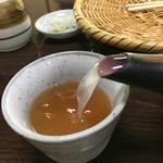大久保の茶屋 - 蕎麦湯