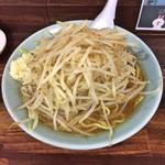 麺工房 武 - ガッツリラーメン(麺大盛り)(上から)