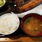 北海炙屋 - ごはん&カニ汁