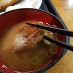 北海炙屋 - カニ汁
