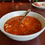 南大門 - ユッケジャンスープ