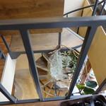 ジェラート専門店 SUGITORA - ☆2階から螺旋階段を\(^o^)/☆