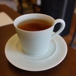 ジェラート専門店 SUGITORA - ☆可愛い温かい紅茶(^o^)/☆