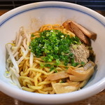 麺鮮醤油房 周月 - 油そば(並盛)