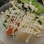 海鮮三崎港 - 海鮮サラダ