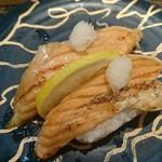 海鮮三崎港 - 炙りトロサーモン