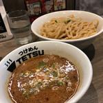 つけめんTETSU - つけ麺特盛(800円 各麺量統一料金)