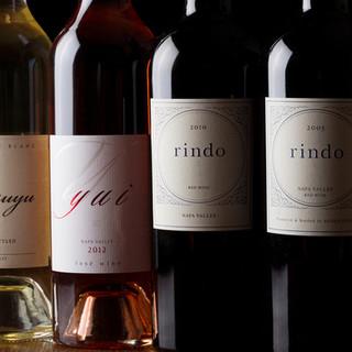 各国より厳選して取り揃えたワイン!お気に入りの一本を見つけて