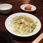肉の館 羅生門 - 焼肉定食  サラダ・キムチ・大根おろし・スープ(写真なし)付き