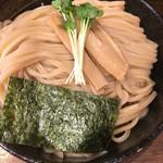 麺や よかにせ - なかなか凝った麺です 久しぶりのよかにせ 極太麺
