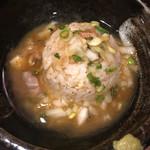 麺や よかにせ - スープいれます
