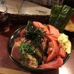 鶴橋まぐろ食堂 - ハーフ盛り(2,400円)