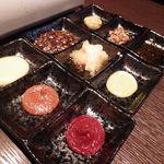 木村屋本店 - 9種類のタレ