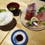 鎌倉おでん波平 - 刺身盛り合わせ定食