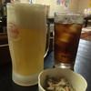 居酒屋 うんな岳 - 料理写真:オリオン生とウーロン茶