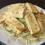 居酒屋 うんな岳 - 島豆腐サラダ